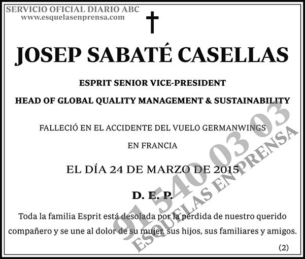 Josep Sabaté Casellas